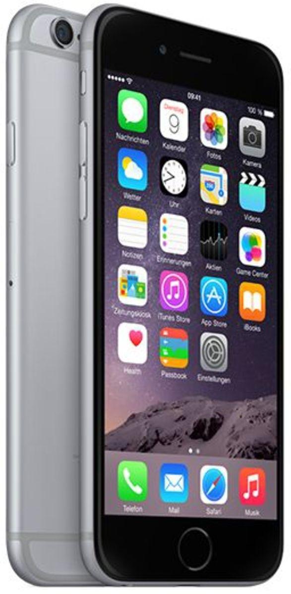 fd95be3f5ed4d5 Apple iPhone 6 64GB Spacegrau LTE IOS Smartphone 4,7