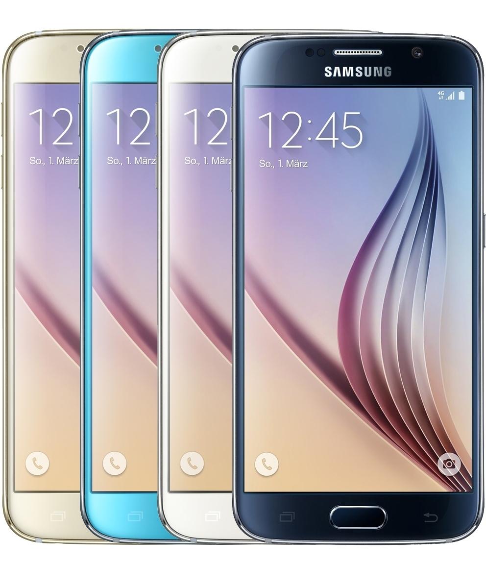 samsung galaxy s6 32gb lte android smartphone ohne simlock. Black Bedroom Furniture Sets. Home Design Ideas