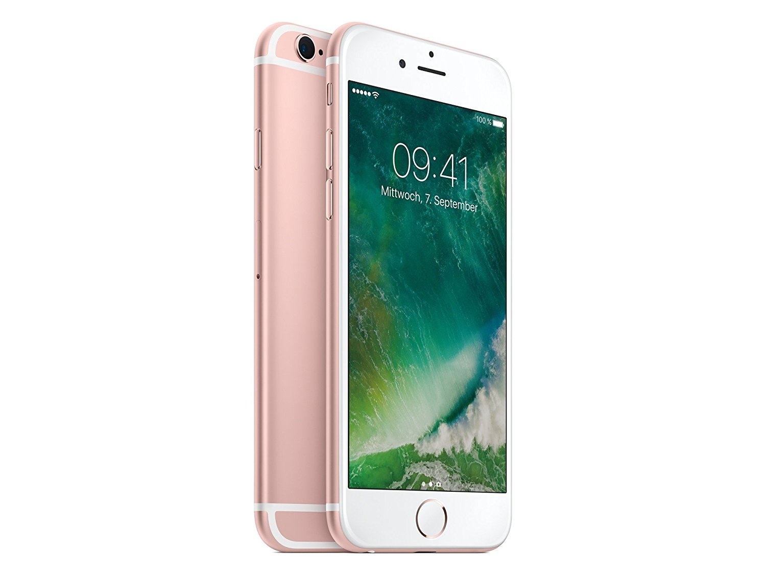 apple iphone 6s 128gb ros gold lte smartphone ohne simlock. Black Bedroom Furniture Sets. Home Design Ideas
