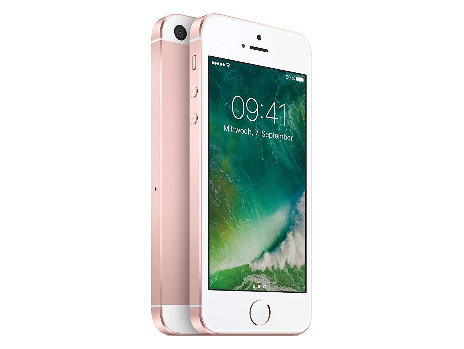 apple iphone se 64 gb ros gold ios lte smartphone ohne. Black Bedroom Furniture Sets. Home Design Ideas