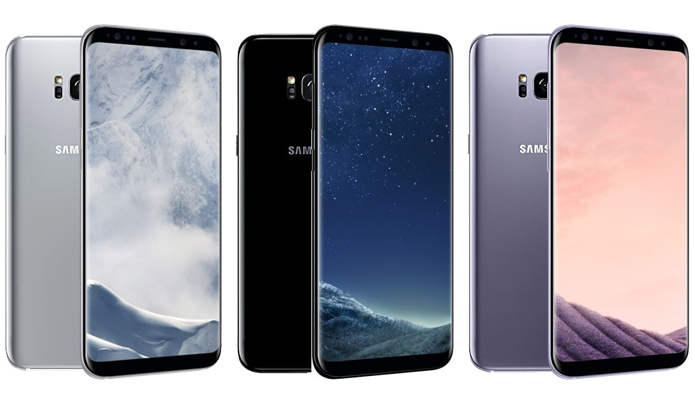samsung galaxy s8 64gb lte android smartphone 5 8 display. Black Bedroom Furniture Sets. Home Design Ideas