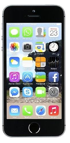 apple iphone 5s 16gb spacegrau lte ios smartphone ohne. Black Bedroom Furniture Sets. Home Design Ideas