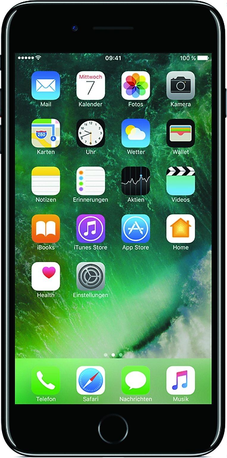 apple iphone 7 256gb schwarz lte ios smartphone ohne. Black Bedroom Furniture Sets. Home Design Ideas