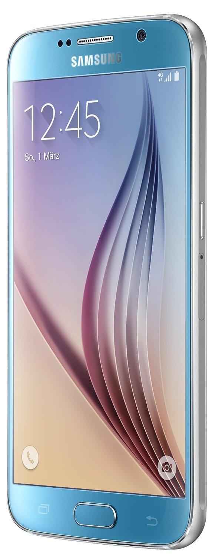 samsung galaxy s6 blau 32gb lte android smartphone ohne. Black Bedroom Furniture Sets. Home Design Ideas