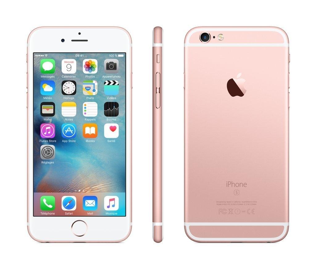 apple iphone 6s 16gb rosegold lte ios smartphone ohne. Black Bedroom Furniture Sets. Home Design Ideas